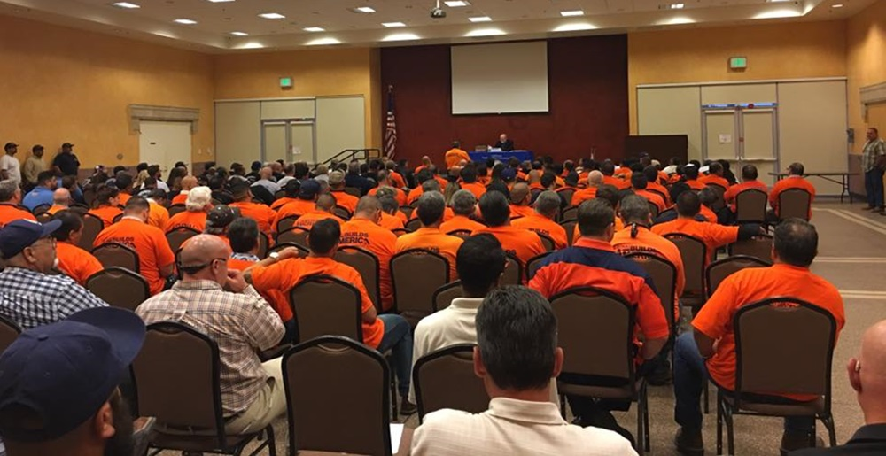 LiUNA! Strong against Edison Rate Increase