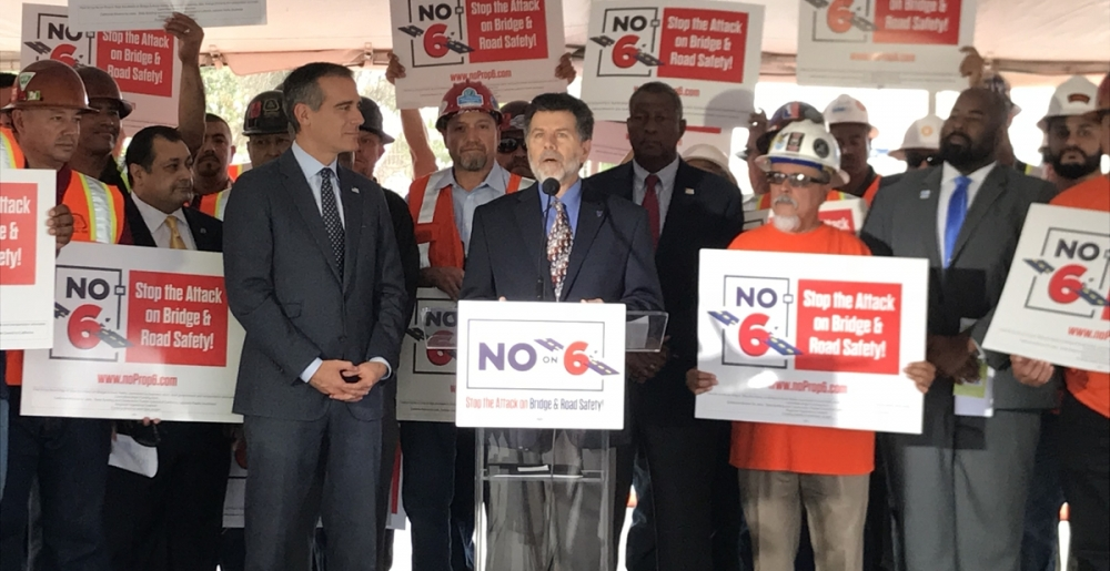Stop the Attack on Bridge and Road Safety! No on Prop 6!